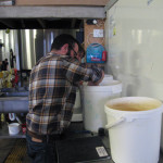 Mixing the malts