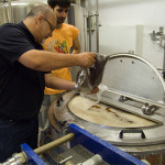 Adding the Carafa Special the sparge
